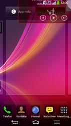 LG D955 G Flex - Startanleitung - Installieren von Widgets und Apps auf der Startseite - Schritt 8