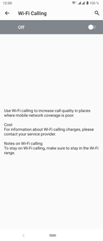 Sony Xperia 5 - WiFi - Enable WiFi Calling - Step 10