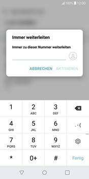 LG G6 - Android Oreo - Anrufe - Rufumleitungen setzen und löschen - Schritt 7