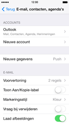 Apple iPhone 5s - e-mail - handmatig instellen - stap 9