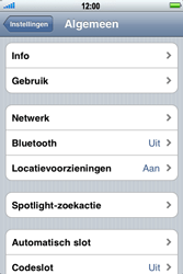Apple iPhone 3G S - bluetooth - aanzetten - stap 4