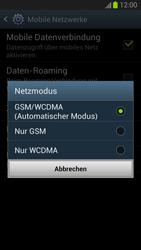 Samsung I9300 Galaxy S3 - Netzwerk - Netzwerkeinstellungen ändern - Schritt 7