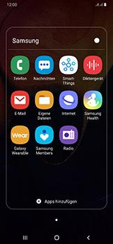 Samsung Galaxy A50 - E-Mail - Manuelle Konfiguration - Schritt 4