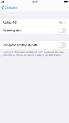 Apple iPhone 8 - iOS 13 - Rete - Come attivare la connessione di rete 4G - Fase 5