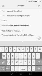 Huawei Huawei P9 Lite - E-mail - E-mails verzenden - Stap 10