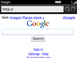 BlackBerry 9360 Curve - Internet - Internet browsing - Step 4