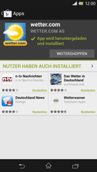 Sony Xperia Z - Apps - Herunterladen - Schritt 16