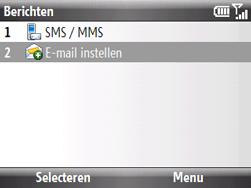 HTC S521 Snap - E-mail - handmatig instellen - Stap 4