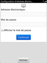 BlackBerry 9810 Torch - E-mail - Configuration manuelle - Étape 8