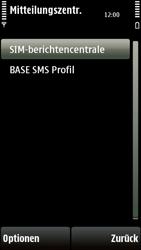 Nokia 5230 - SMS - Manuelle Konfiguration - 7 / 10
