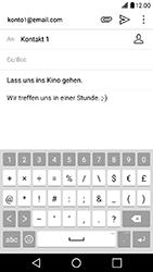 LG X Power - E-Mail - E-Mail versenden - Schritt 10