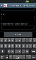 Samsung Galaxy Express - E-mail - Configuration manuelle - Étape 10