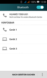 Huawei Y3 - Bluetooth - Geräte koppeln - Schritt 7