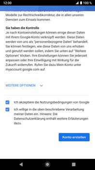 Sony Xperia XZ2 Premium - Android Pie - Apps - Konto anlegen und einrichten - Schritt 17