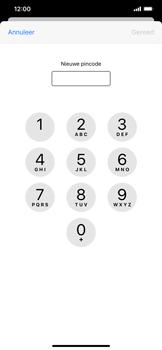 Apple iPhone XR - iOS 13 - Beveiliging - Stel de pincode voor je simkaart in - Stap 8