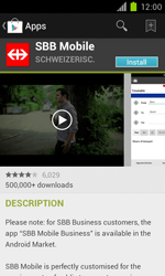 Samsung Galaxy S II - Applications - Installing applications - Step 21
