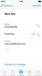 Apple iPhone 5 - Contact, Appels, SMS/MMS - Utiliser la visio - Étape 5