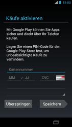 Motorola RAZR i - Apps - Konto anlegen und einrichten - 18 / 22