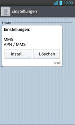 LG Optimus L7 II - MMS - Automatische Konfiguration - 7 / 12