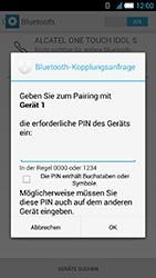 Alcatel One Touch Idol S - Bluetooth - Verbinden von Geräten - Schritt 7