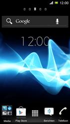 Sony ST26i Xperia J - Voicemail - handmatig instellen - Stap 1