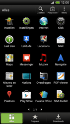 HTC S720e One X - E-mail - Handmatig instellen - Stap 3