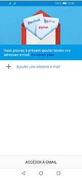 Huawei Y6 (2019) - E-mails - Ajouter ou modifier votre compte Gmail - Étape 5