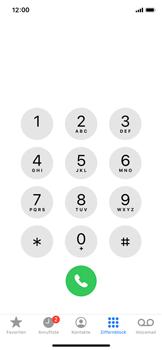 Apple iPhone X - iOS 13 - Anrufe - Anrufe blockieren - Schritt 3