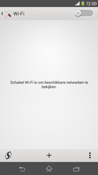 Sony D2303 Xperia M2 - Wifi - handmatig instellen - Stap 5