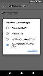 Sony Xperia X Compact (F5321) - Android Oreo - Netwerk - Wijzig netwerkmodus - Stap 7