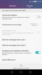 Huawei Honor 5X - SMS - Configuration manuelle - Étape 6