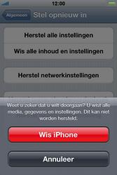 Apple iPhone 4 S - Toestel - Fabrieksinstellingen terugzetten - Stap 8
