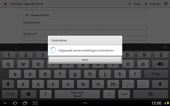 Samsung N8020 Galaxy Note 10-1 LTE - E-mail - Handmatig instellen - Stap 15