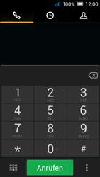 Alcatel Pop C7 - Anrufe - Rufumleitungen setzen und löschen - 4 / 11