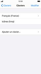 Apple iPhone SE - iOS 13 - Prise en main - Comment ajouter une langue de clavier - Étape 6