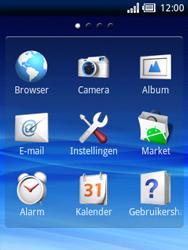 Sony Ericsson Xperia X10 Mini Pro - Internet - hoe te internetten - Stap 2