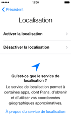 Apple iPhone 5c - Premiers pas - Créer un compte - Étape 7