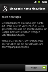 Sony Xperia Go - Apps - Konto anlegen und einrichten - 0 / 0