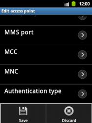 Samsung Galaxy Y - Internet and data roaming - Manual configuration - Step 14