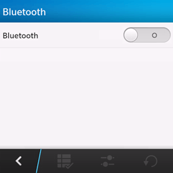 BlackBerry Q10 - bluetooth - aanzetten - stap 6