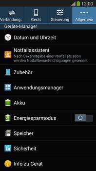 Samsung Galaxy Note III LTE - Software - Installieren von Software-Updates - Schritt 6