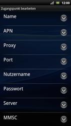 Sony Ericsson Xperia Arc S - Internet - Manuelle Konfiguration - 0 / 0