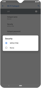 Nokia 7.2 - WiFi - How to enable WiFi hotspot - Step 10