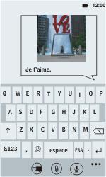 HTC C110e Radar - MMS - Envoi d