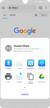 Huawei P30 Lite - Internet and data roaming - Using the Internet - Step 21