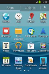 Samsung S6810P Galaxy Fame - apps - account instellen - stap 3