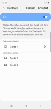 Samsung Galaxy Note 10 - Bluetooth - Verbinden von Geräten - Schritt 9