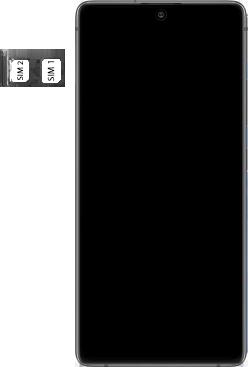 Samsung galaxy-s10-lite-dual-sim-sm-g770f - Instellingen aanpassen - SIM-Kaart plaatsen - Stap 5