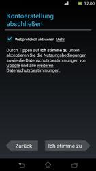 Sony Xperia T - Apps - Einrichten des App Stores - Schritt 12