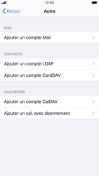 Apple iPhone 7 - iOS 13 - E-mail - Configuration manuelle - Étape 6
